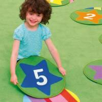 Spielteppich Morgenkreis - Zahlenteppiche 12er Set