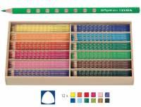 Lyra Groove Slim | 144 Stifte mit Holzbox