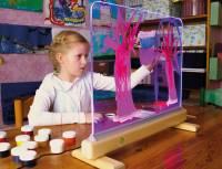 Staffelei LED Leuchtglas - Leuchtstaffelei