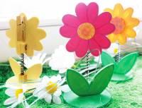 Notiz- und Memohalter Blume