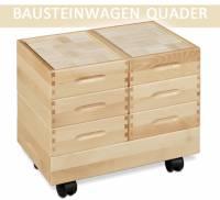 Bausteinwagen Quader | 688 Bausteine
