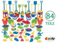 Dantoy Sandspielzeug - Sandspiel Sortiment 84-teilig