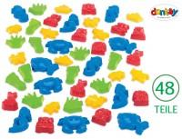 Dantoy Sandspielzeug - Sandformen 48 Riesenteile