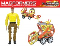Magformers XL Cruisers Construction Set - 37 Teile