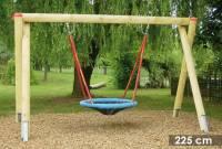 Vogelnestschaukel Douglasie | Höhe 225 cm