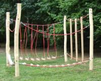 Seil- und Klettergarten Robinie - Komplettanlage