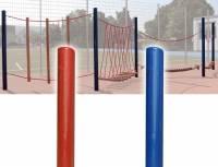Seil- und Klettergarten - Standpfosten aus Stahl