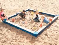 Sandkasten Viereck 270 x 270 cm