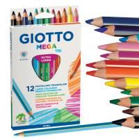 Giotto Mega Tri, 12er Set im Etui