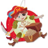 Laternen-Bastelset - Pirat
