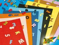 Fotokarton Stanzteile Buchstaben & Zahlen - 700er Set
