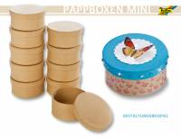 Pappboxen Mini 10er Set - Rund