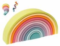 Bausteine Regenbogen Pastell, 12-teilig