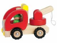 Holzfahrzeug Abschleppwagen