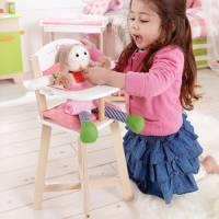 Puppen-Hochstuhl 2-teilig