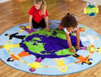 Spielteppich Children of the World™ - Kinder dieser Welt Ø 200 cm