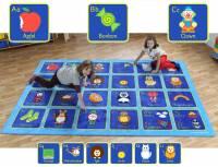 Spielteppich Alphabet 300 x 200 cm