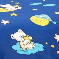 Bettwäsche Garnitur aus Baumwolle - Sternenfänger