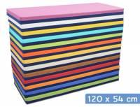 Liegepolster 120 x 54 x 8 cm (Baumwollstoff/Kunstleder)