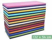 Liegepolster 132 x 54 x 8 cm (Baumwollstoff/Kunstleder)