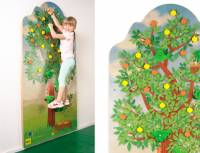 Kletterwand Apfelbaum