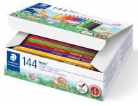 Staedtler Noris Schulpackung mit 144 Farbstiften