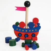 Stapelspiel Piratenschiff