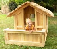 Spielhaus Robinie mit Terrasse