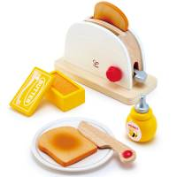 Kinderküche - Hape Pop-Up-Toaster 7-teilig