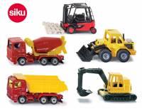 SIKU Baustellenfahrzeuge 5er Set
