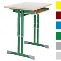 Schülerkufentisch 70 x 50 cm (Einzelplatz höhenverstellbar)