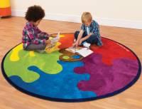 Spielteppich Farbkreis Ø 200 cm