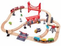 Hape Eisenbahnset Verkehrsreiche Stadt