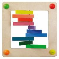 Babypfad Farbspiel | Raumteiler und Wandspiel U3