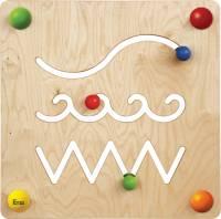 Babypfad Spur | Raumteiler und Wandspiel U3