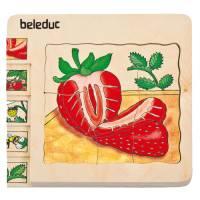 Lagenpuzzle Erdbeere