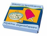 Bildkarten zur Sprachförderung - Adjektive: Gegensatzpaare
