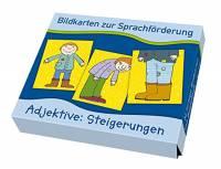 Bildkarten zur Sprachförderung - Adjektive: Steigerungen