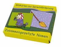 Bildkarten zur Sprachförderung - Zusammengesetzte Nomen