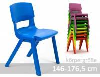 Postura Plus Schülerstuhl - Sitzhöhe 43 cm | Neue Version