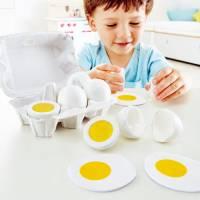 Kinderküche - Hape Eierkarton mit sechs Eiern
