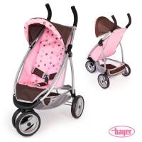 Bayer Puppenwagen Jogger Sport - Pink