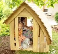 Spielhaus Waldhütte aus Robinie