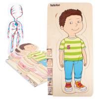 Lagenpuzzle Dein Körper - Junge | 29-teilig