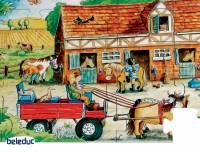 Bodenpuzzle Ponyfarm | 45-teilig