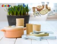 Kinderküche Dantoy BIOplastic | Kochset 22-teilig