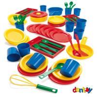 Kinderküche Essservice 82-teilig
