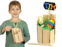 Rührtrommel aus Holz | Bausatz mit Holzleim