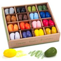 Wachsmaler Crayon Rocks 64er Set | 4x16 Farben