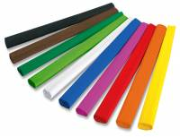 Krepppapier 50 x 250 cm - 10 Rollen je Farbe